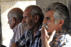 Rauchende Iraner