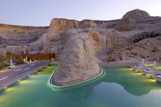 Pool, Amangiri, Utah