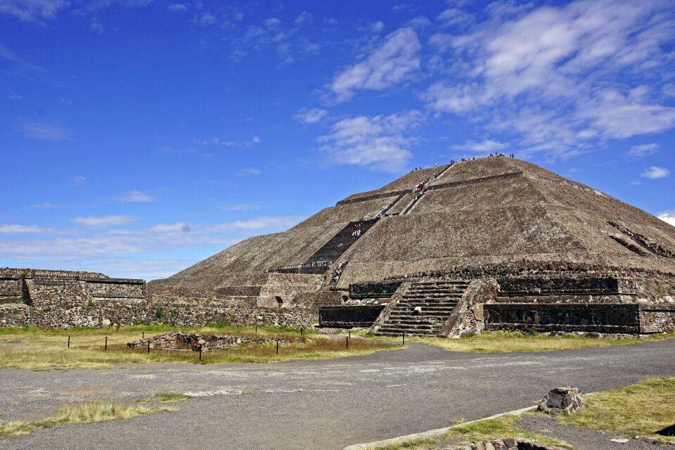 Teotihuacan – beeindruckende Sonnenpyramide
