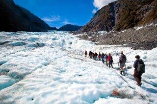 Tagestour auf dem Fox Gletscher