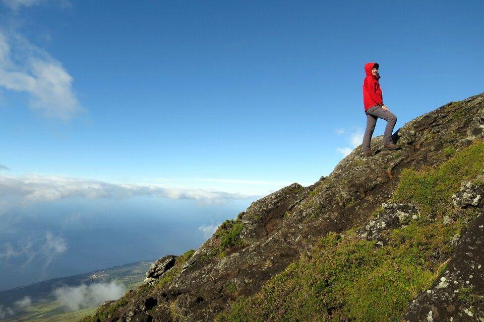 Bei der Besteigung des Pico