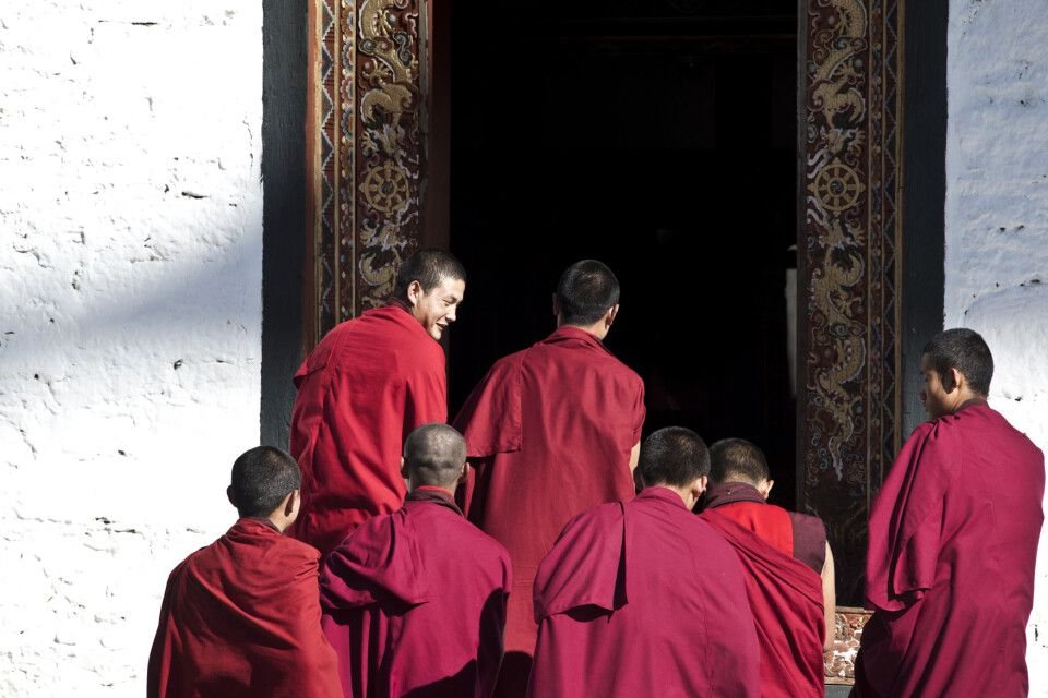 Thimpu, Buddha Point, Tashi Chodzong