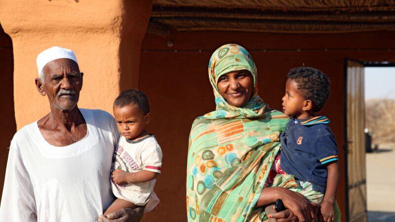 Nubische Familie © Diamir