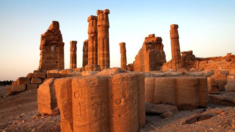 Tempel von Soleb © Diamir