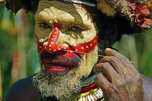Huli im Portrait