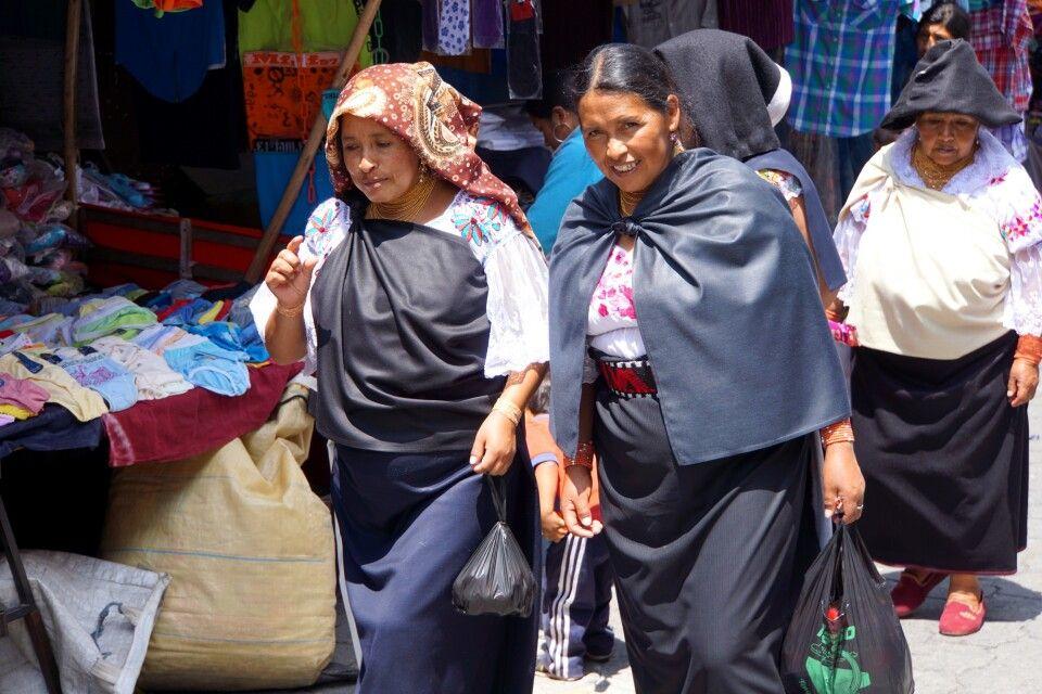 Markttag in Otavalo