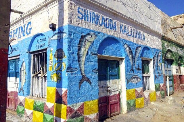 Fischladen im Zentrum von Berbera