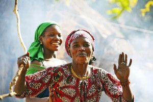 Frau im Senegal