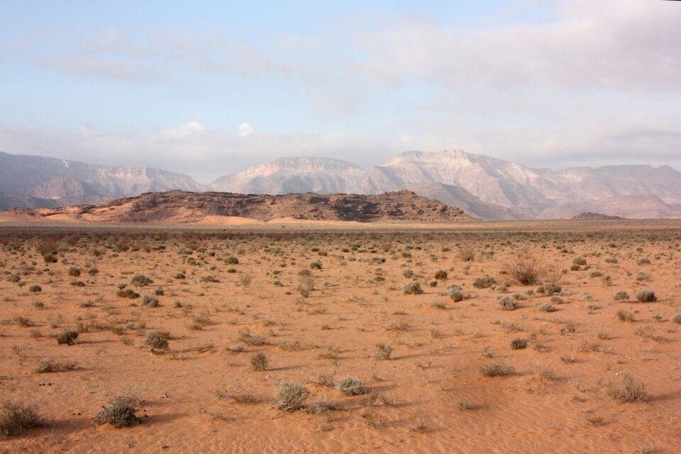 Dünenlandschaft Richtung Madyh
