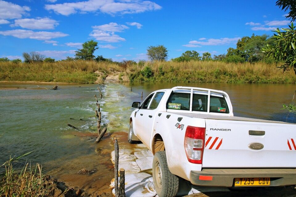 Safari im South Luangwa-Nationalpark
