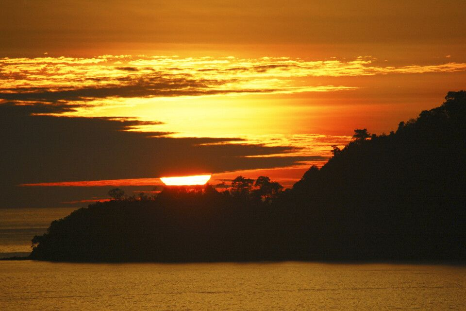 Malaysia – Borneo – Kota Kinabalu – Sonnenuntergang