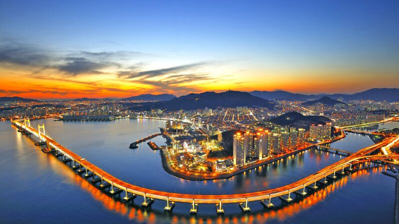 Gwangandaegyo Brücke in Busan © Diamir