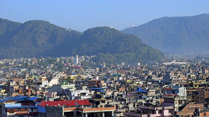Blick auf Kathmandu © Diamir
