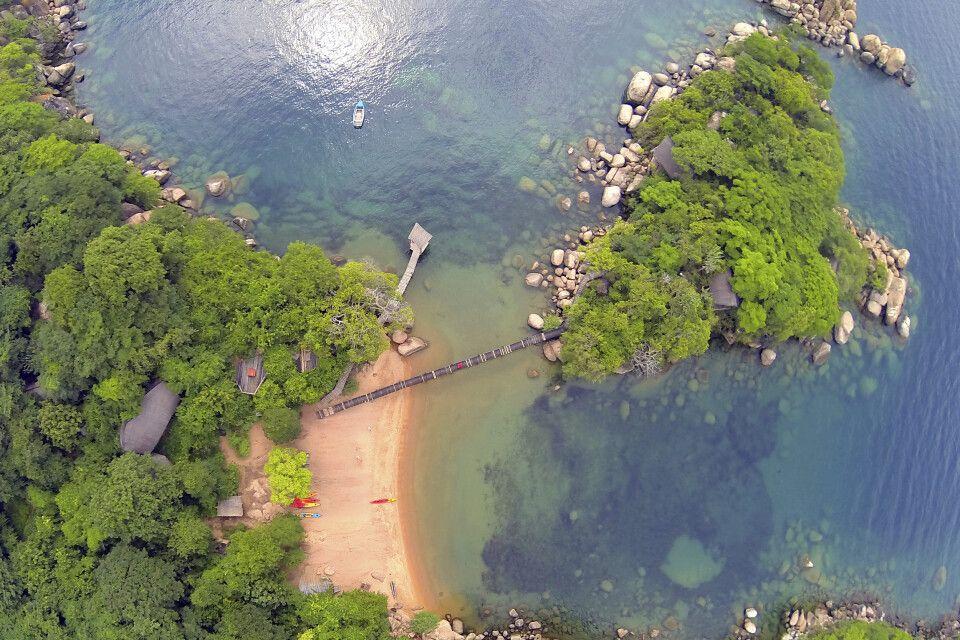 Mumbo Island am Malawi-See