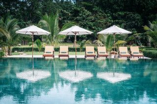 Ho Tram Beach Boutique Hotel in Vung Tau - Pool