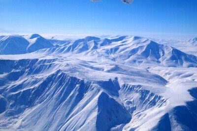 Flug über den Mongolischen Altai