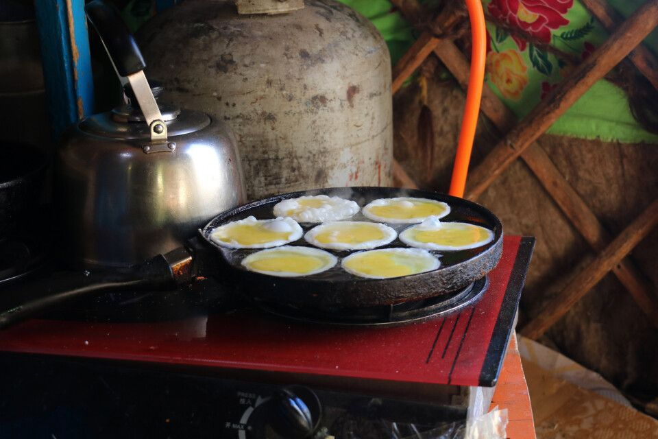 Frühstückseier in Form