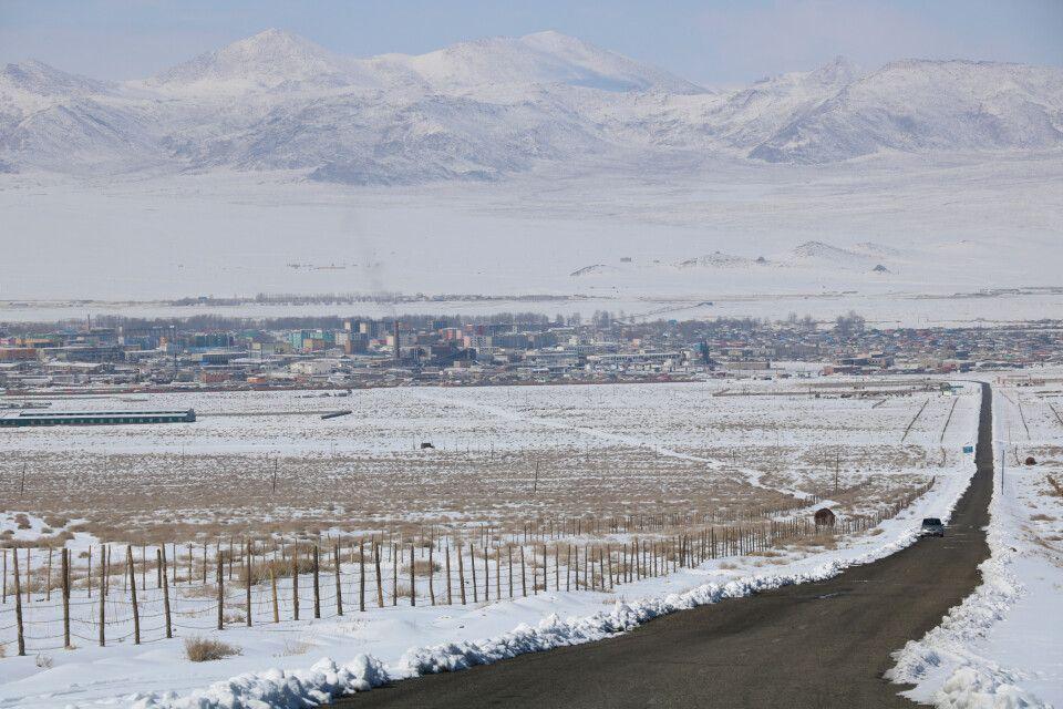 Provinzhauptstadt Khovd