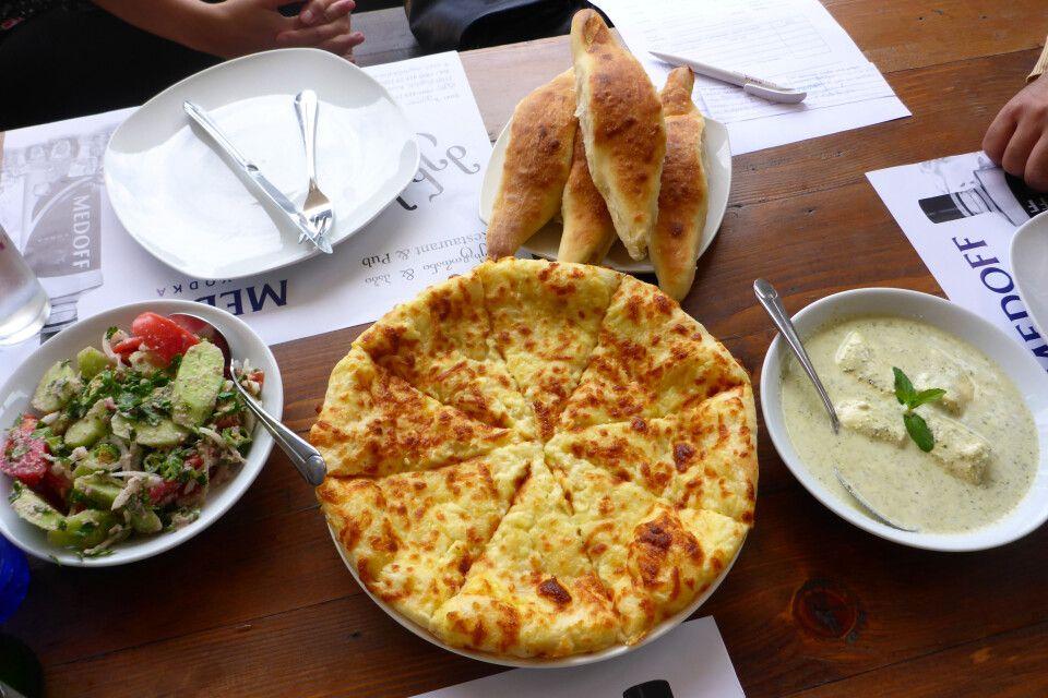 Köstliche Küche in Migrelien