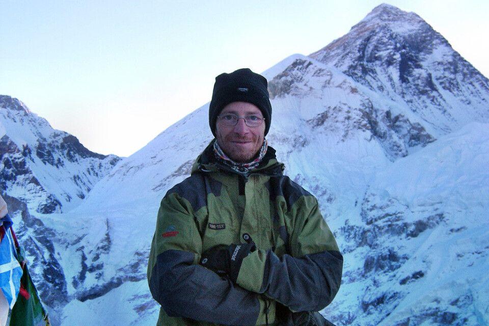 Gipfel Kala Pattar mit Blick auf Everest