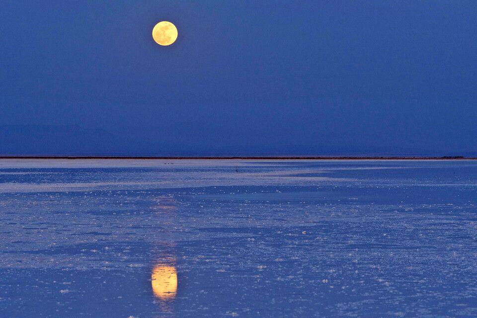 Abendstimmung in der Danakil-Wüste