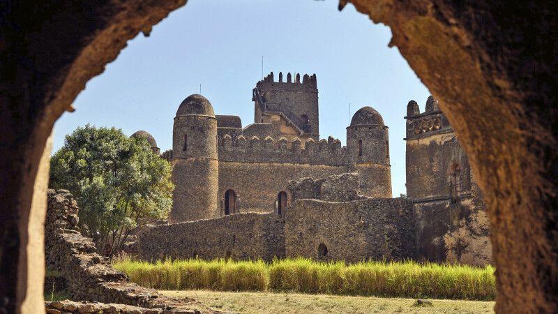 Palastbezirk in Gondar © Diamir