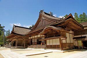 Kongobuji-Tempel in Koyasan