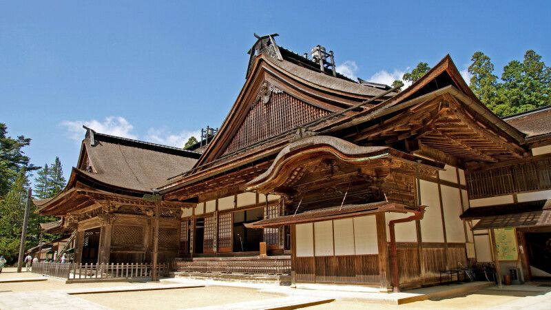 Kongobuji-Tempel in Koyasan © Diamir