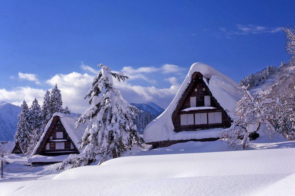 Wintermärchen Shirakawa-gō (UNESCO)