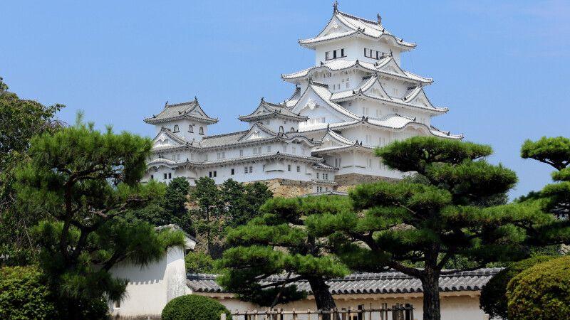Weißer Reiher Burg in Himeji © Diamir