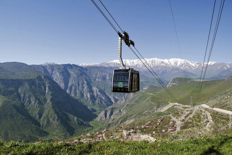 Seilbahn von Halidzor nach Tatev