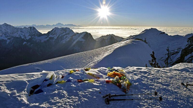 Gipfelerfolg am Mera Peak © Diamir