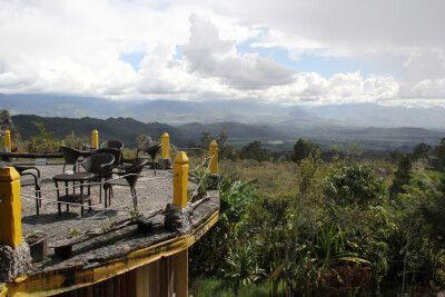 Blick vom Balien Valley Resort