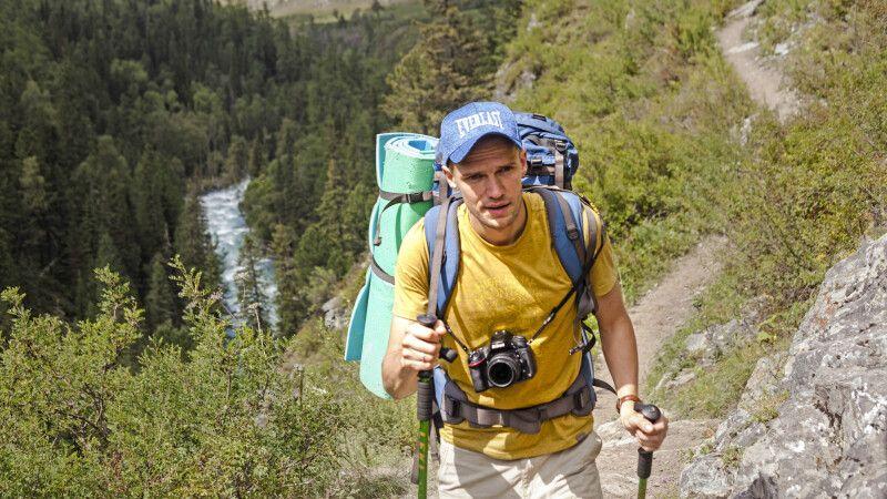 Trekker im Altai © Diamir