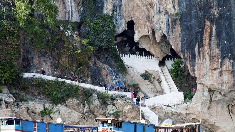 Pak-Ou-Höhlen unweit von Luang Prabang © Diamir