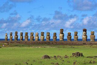 Ahu Tongariki – die größte Zeremonienanlage auf der Osterinsel