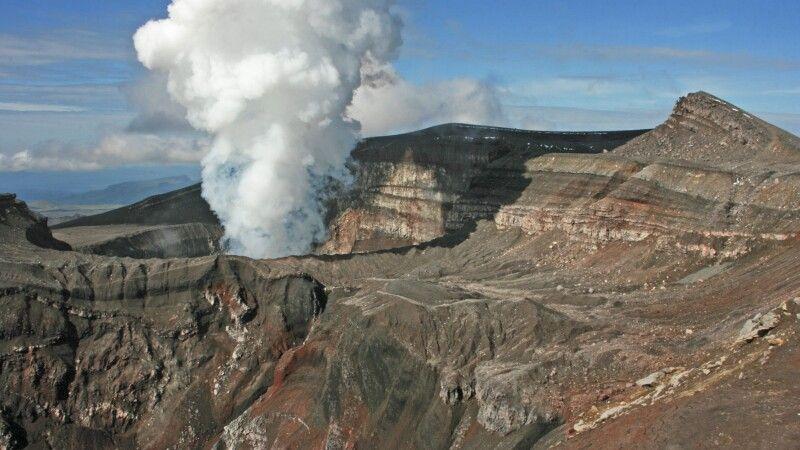 Vulkan Goreli © Diamir