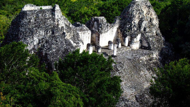 Mystische Maya-Stätte Calakmul © Diamir