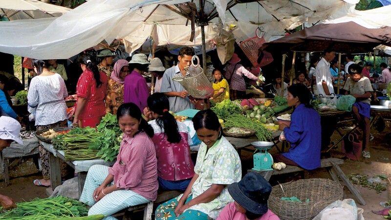 Markt in Siem Reap © Diamir