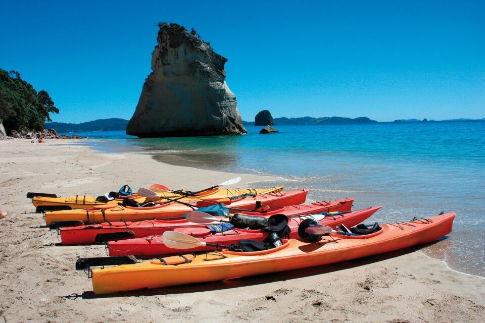 Kayak in Coromandel