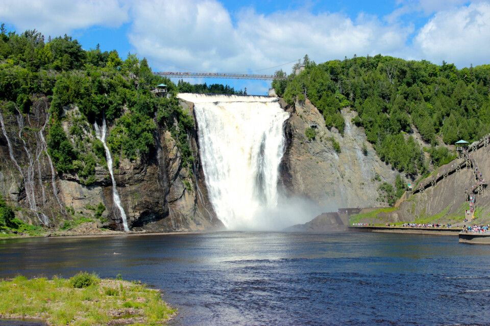 Montmorency-Wasserfall, Quebec City