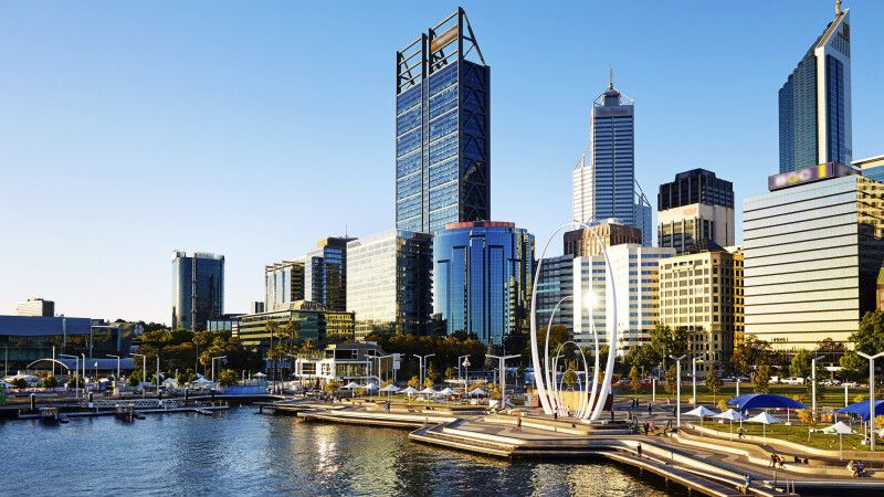 Elizabeth Quay in Perth © Diamir