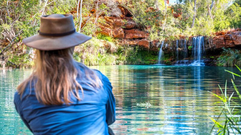 Fern Pool located in Dales Gorge, Karijini-Nationalpark © Diamir
