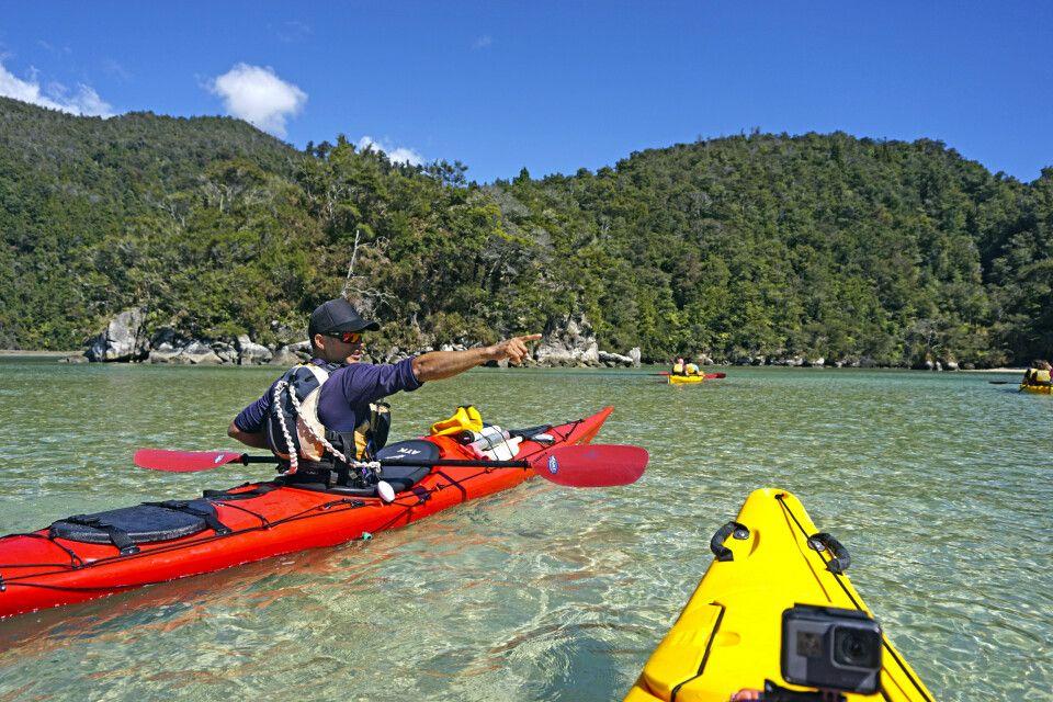 Kayaktour iM Abel Tasman