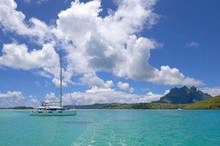 Segelkreuzfahrt in Französisch Polynesien - Katamaran Lagoon 620