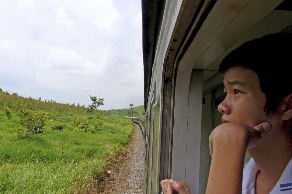 Zwiswchen Da Nang und Ninh Binh mit dem Zug