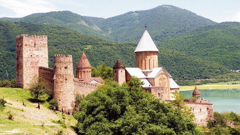 Festungsanlage Ananuri © Diamir
