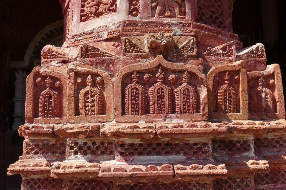 Hindutempel in Puthia