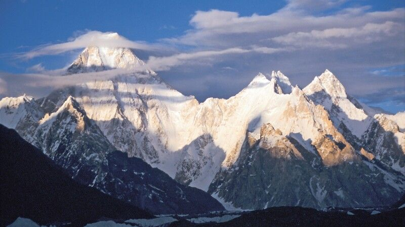 Blick auf den Gasherbrum. © Diamir