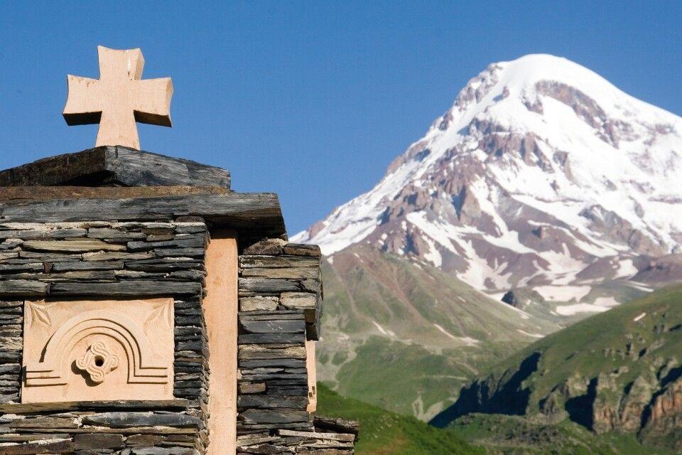 Berg Heil am Kasbek